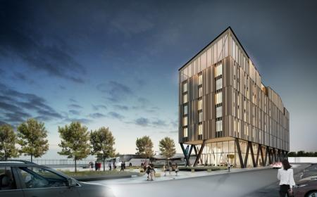 Novotel Christchurch Airport Hotel artists impression