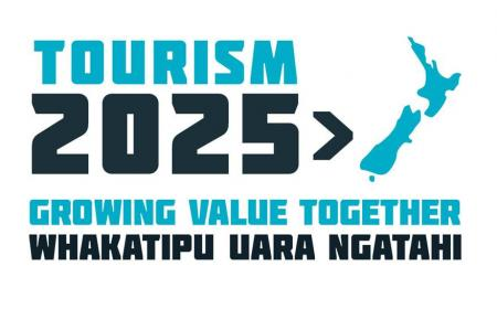 Tourism 2025 logo with strapline