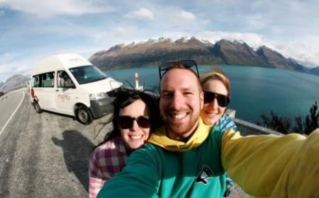Visiting Driver Safety Mighty Highball Glenorchy South Island JUL 2013 4