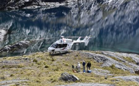 Lake Erskine Southern Lakes Helicopters