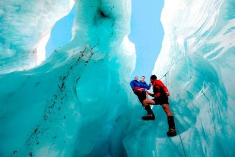 Backpackers have voted Franz Josef Glacier Guides the number one visitor attraction in New Zealand